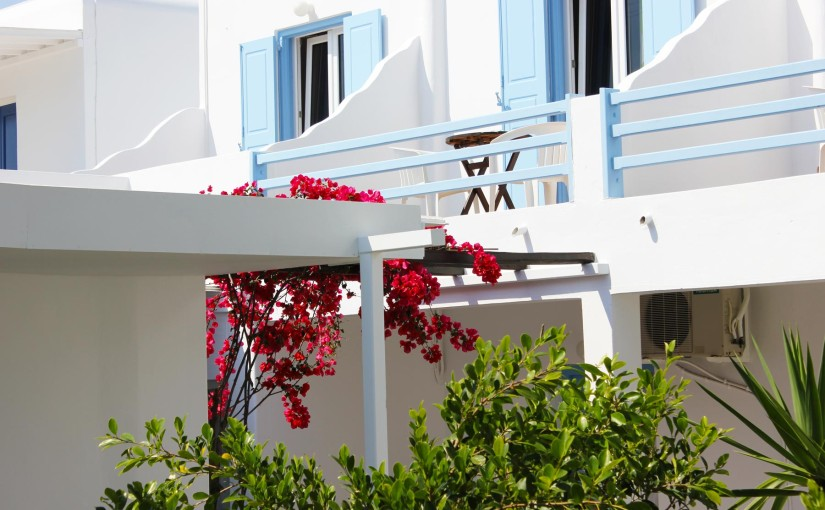 Mykonos Town hotel – Sourmeli Garden